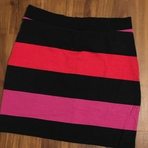 H&M Black,Red,Pink mini Skirts Size 4